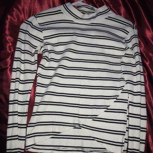 #BRSKGIRL striped top